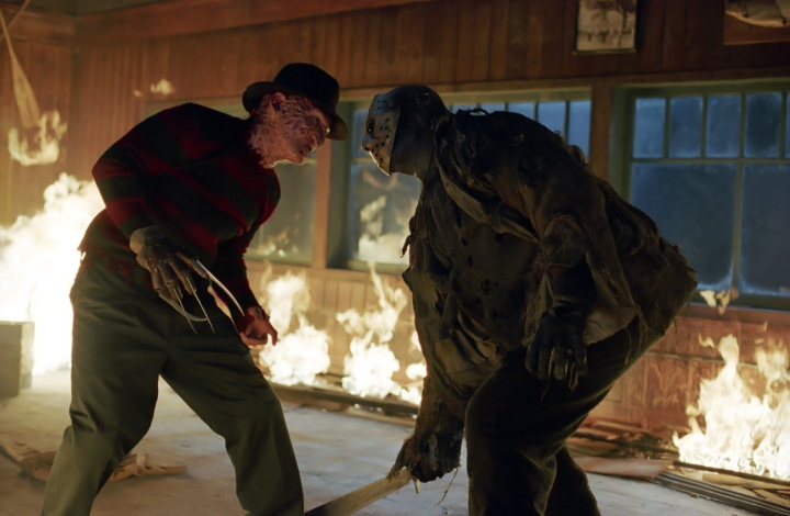 FREDDY VS. JASON (2003). Director: Ronny Yu. Cinematographer: Fred Murphy.