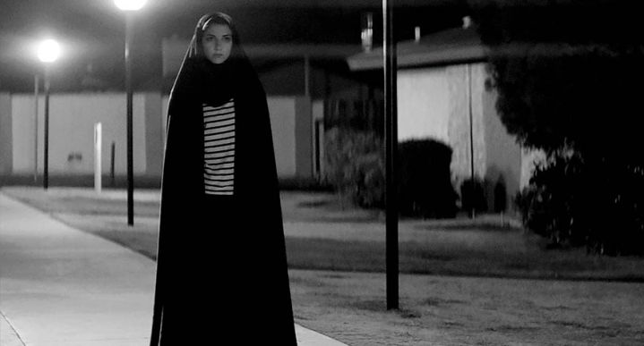 A GIRL WALKS HOME ALONE AT NIGHT (2015). Director: Amir Lily Amirpour. Cinematographer: Lyle Vincent.