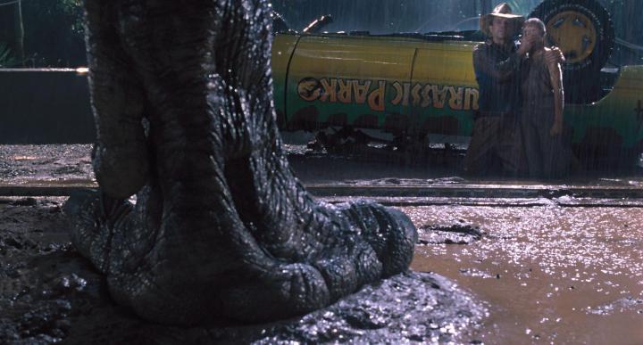 JURASSIC PARK (1993). Director: Steven Speilberg. Cinematographer: Dean Cundey.