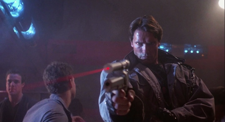 THE TERMINATOR (1984). Director: James Cameron. Cinematographer: Adam Greenberg.