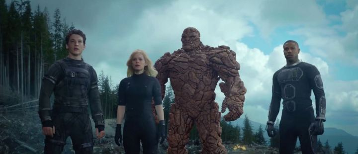 FANTASTIC FOUR (2015). Director: Josh Trank. Cinematographer:  Matthew Jensen.